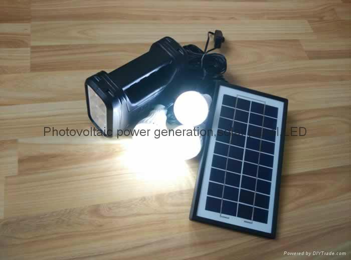 6w直流LED太陽能燈 5