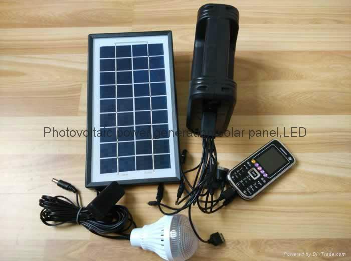 6w直流LED太陽能燈 4
