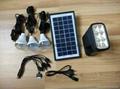 6w直流LED太陽能燈 3