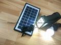 6w直流LED太陽能燈 2