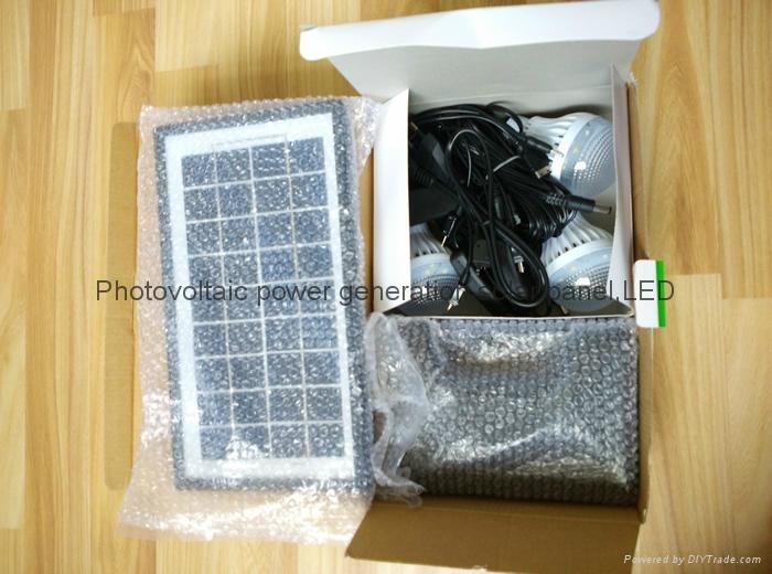 6w直流LED太陽能燈 1