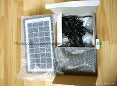 6w直流LED太陽能燈