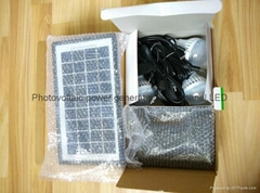6w LED solar lighting kit