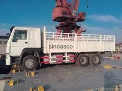 371HP Sinotruck HOWO heavy truck Cargo truck for Ethiopia market