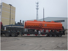 China fuel tank semi trailer