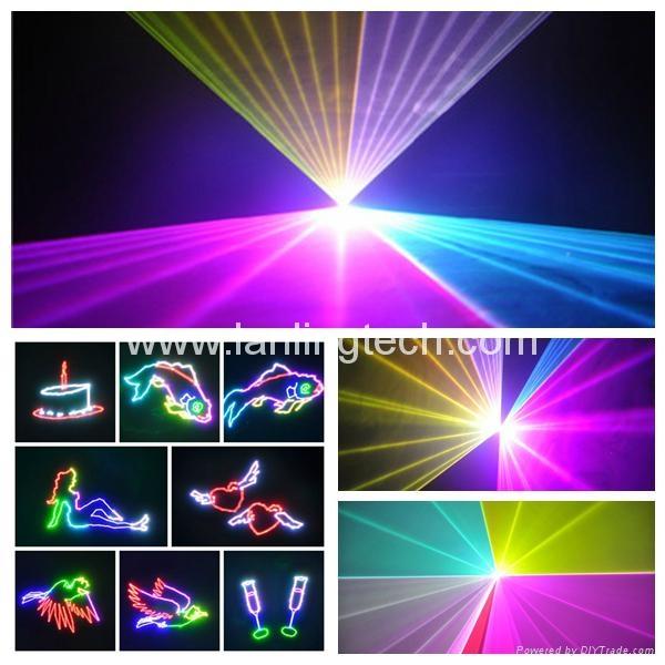 5W RGB ILDA Animation Laser show system - L5459RGB - Lanling