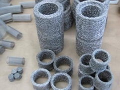 Compressed Knitted Wire Mesh Filter