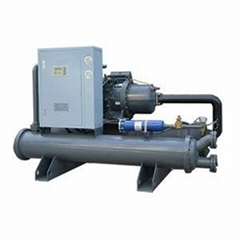 Water cooled screw chiller, water to water screw chiller