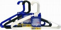 plastic tubular hanger/clothes hanger rack/ coat hanger wholesale