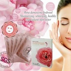 Rose Advanced Brightness Facial Mask