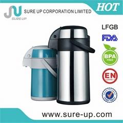 high grade stainless steel airpot