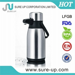 stainless steel coffee thermos airpot for turkey