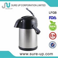 vacuum thermos air pump pot