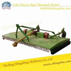 Grass cutting machine rear mounted chain mower with high quailty