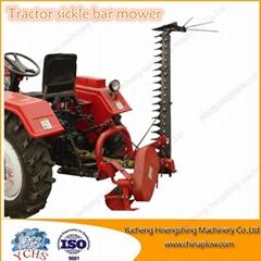Tractor side sickle bar mower farm used