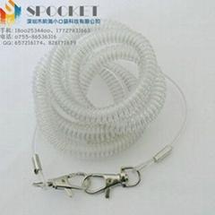 生产定制包钢丝彩色渔具失手绳