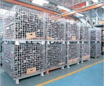 floding storage wire mesh container ... & floding storage wire mesh container (China Manufacturer) - Wire Mesh ...