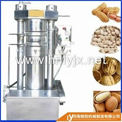 China factory sesame hydraulic oil press machine