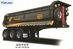 TIANJUN dump semi trailer from China