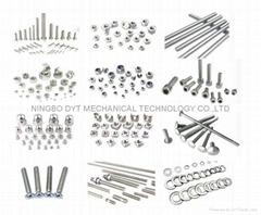 Stainless steel products and brass parts etc