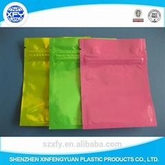 Customized Laminated Bag with Zipper for Packing Food