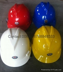 cheap PE safety helmets
