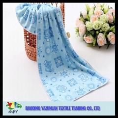 Promotion microfiber full printing hand towel