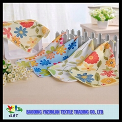 Promotional printing kitchen cleaning cloth micro fiber towel