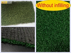 Without Infilling Decoration Artificial Synthetic Grass Turf Lawn SS-045012-Q