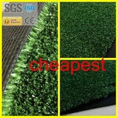2016 Cheap Artificial Grass Synthetic Turf Lawn 10mm SS-044005-XW For Anywhere
