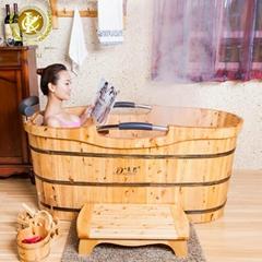 Luxury freestanding eco-friendly massage bathtub