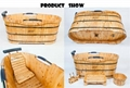 Luxury freestanding eco-friendly massage bathtub 4