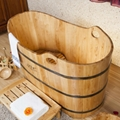 Good quality wooden tub pedicure, made