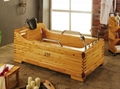 Chinese manufacture wooden bathtub named