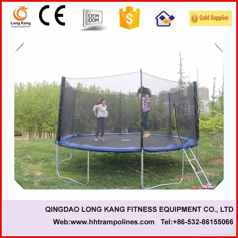 bungee trampoline jumping bed 6-16ft for sale 1