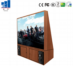 101 Inches LED TV small pixel pitch high definition
