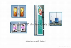 Outdoor LED display signboard for