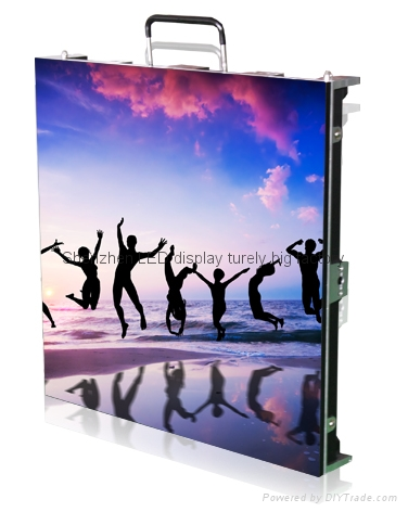 LED display P3.91 rental indoor led display for ground events 4