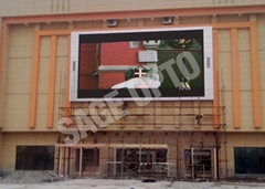 P3.91 Indoor rental led display for