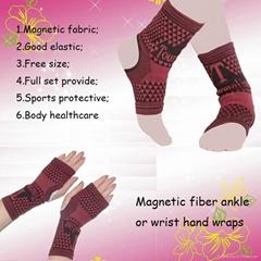 Spandex foot wear ankle support brace