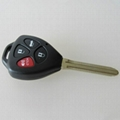 New Toyota TOY43 3+1 button remote key shell  1