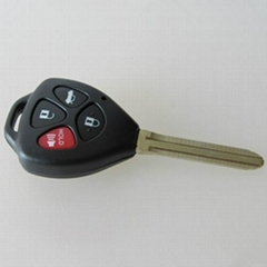 New Toyota TOY43 3+1 button remote key shell
