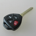 New Toyota TOY43 3+1 button remote key shell  5