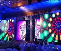 Indoor LED rental display