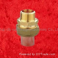 90 degrees brass faucet elbow