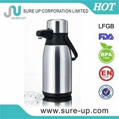 stainless steel vacuum pumping airpot