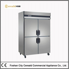 1000L Solid Doors Upright Commercial Freezers