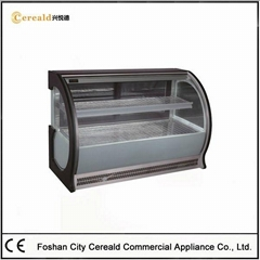 Glass Front Bakery Store Cake Display Counter For Sale