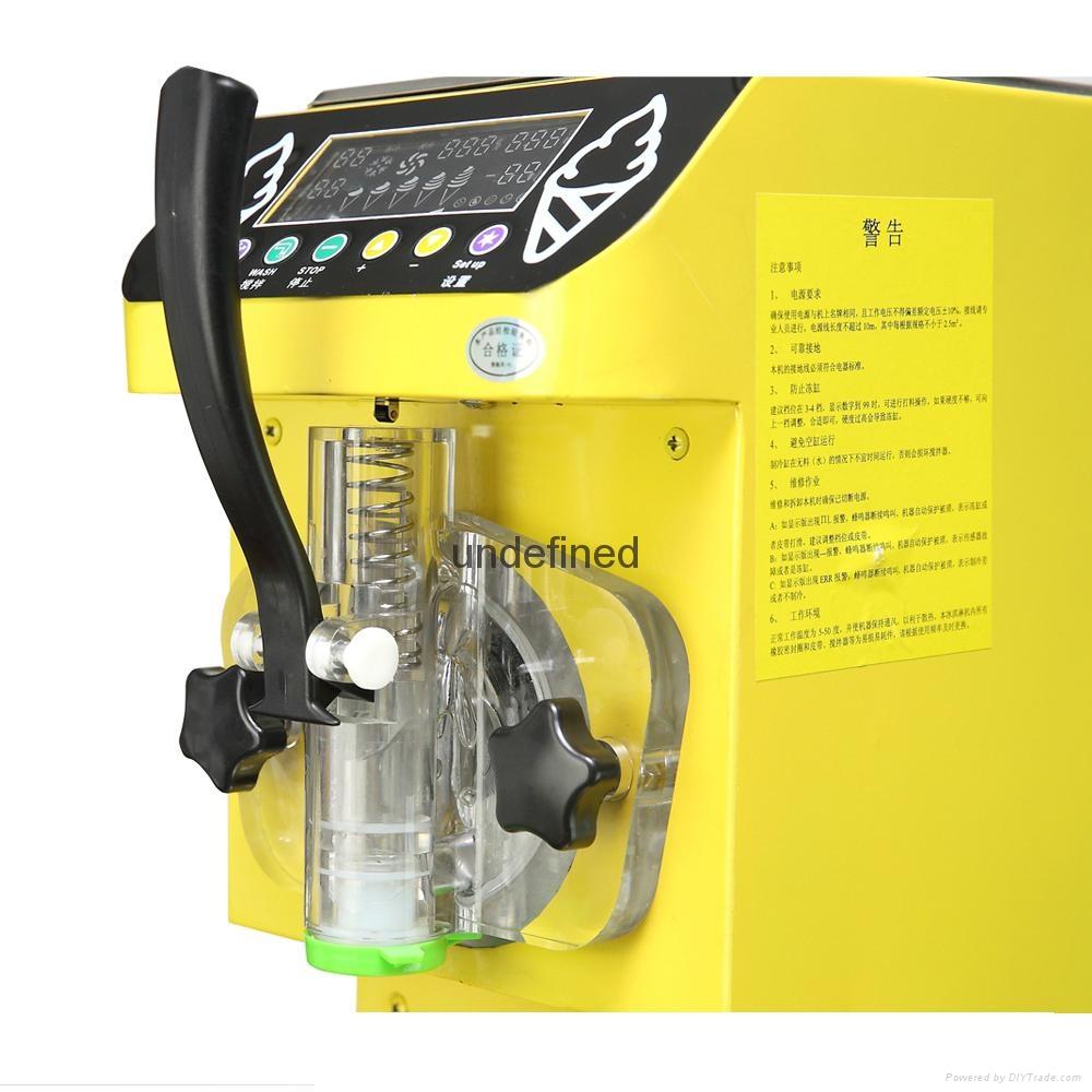 Free Shipping Ice Cream Maker Soft Ice Cream Machine 110V 500W  4