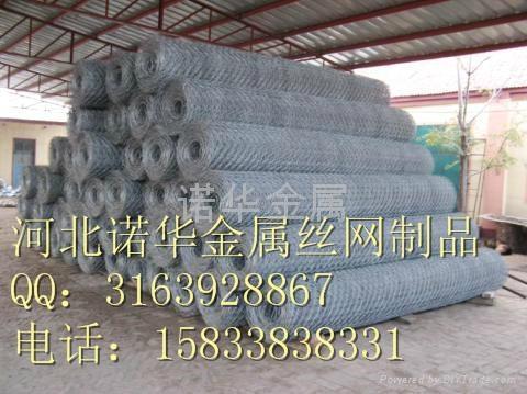 镀锌 包塑石笼网 2